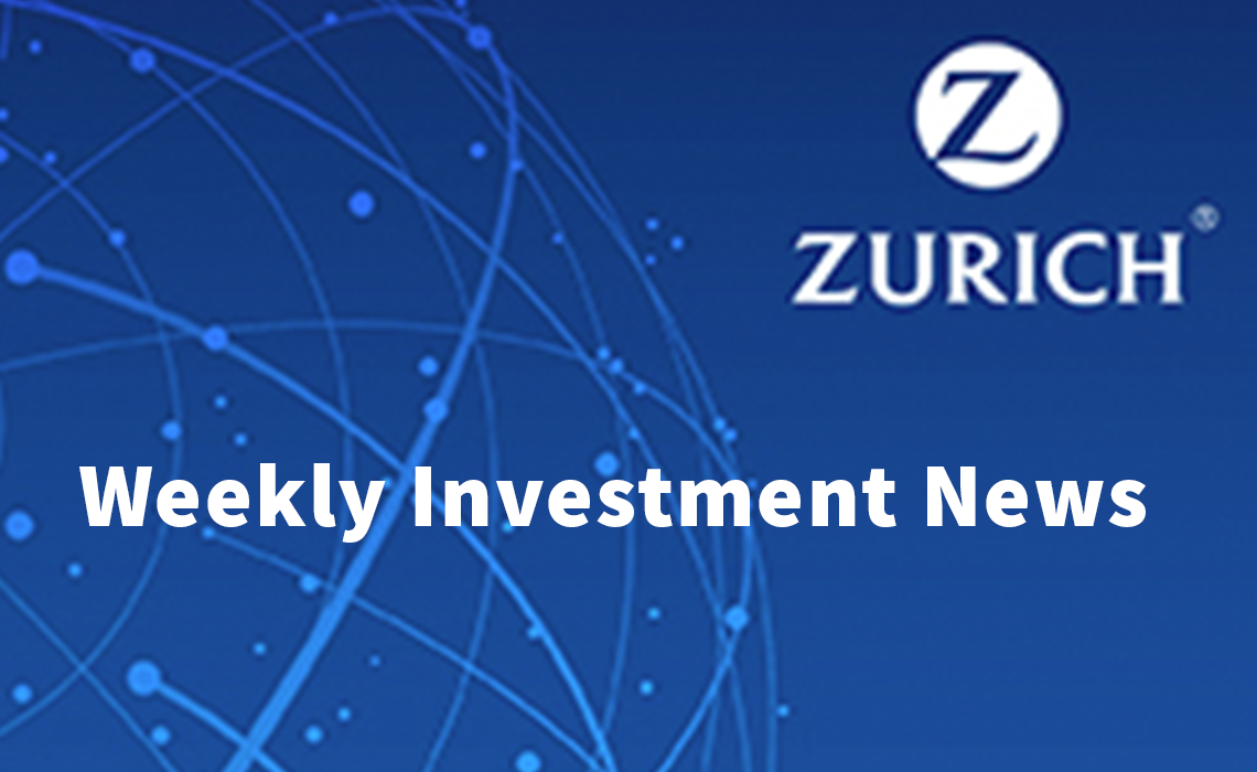 Global equities led lower by Tech stocks – Zurich Life Weekly Investment News