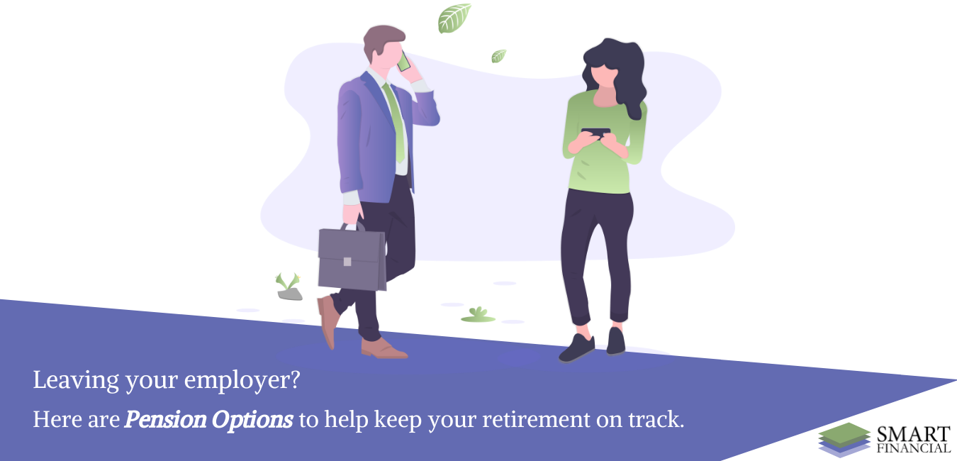 What are my Pension options when changing jobs?